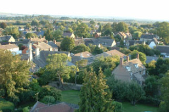 View of Shrivenham from the Church