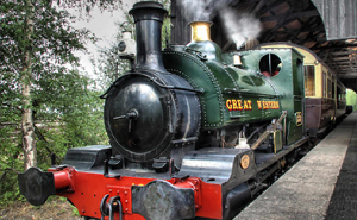 GWR tank engine at Didcot Railway Centre