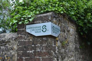 Shrivenham Circular Walk Sign