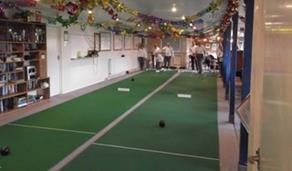 Shrivenham Bowls Club Short Mat Bowls Interior