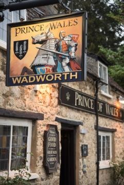 Exterior Prince of Wales pub