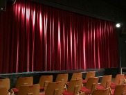 Theatre with Stage Curtains